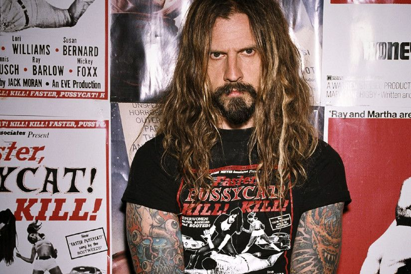 ... Wallpaper Gallery · ROB-ZOMBIE industrial metal heavy white-zombie rob zombie  white ...