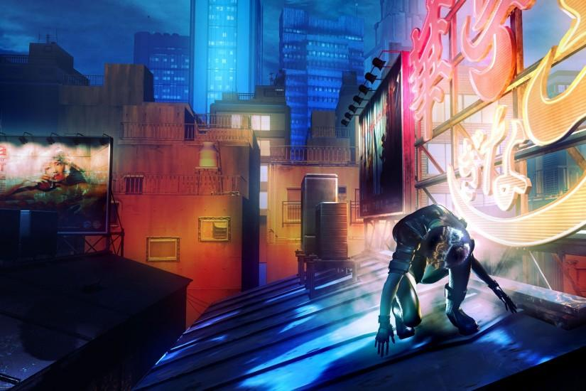 download free ghost in the shell wallpaper 2560x1600 picture