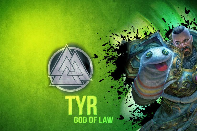 ... Tyr the God of Law (Smite) by DarkunePlays