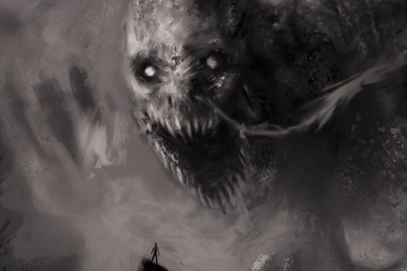 demon evil dark horror fantasy monster art artwork