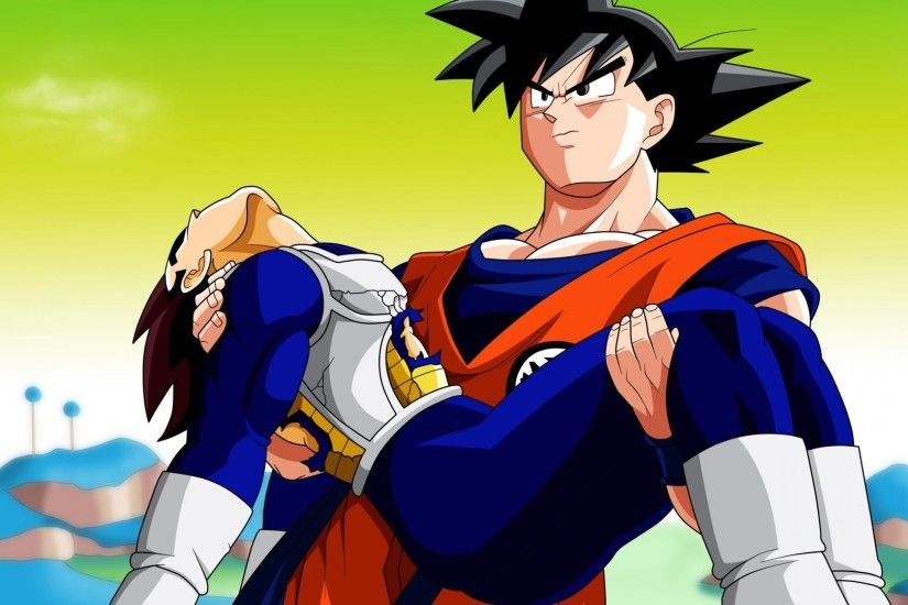 Vegeta death son goku dragon ball z wallpaper