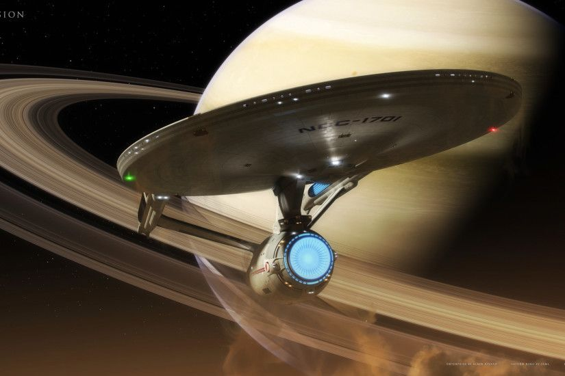 ... Star Trek 2009 Enterprise as rendered by ...