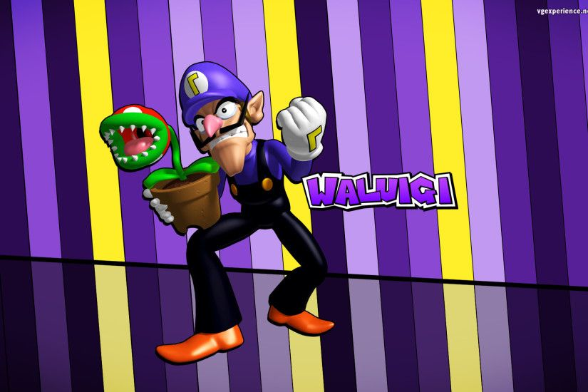 1920x1200 Waluigi Wallpaper