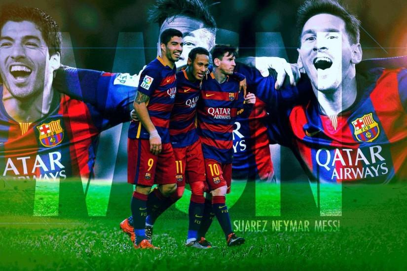 Messi Suarez Neymar HD Images