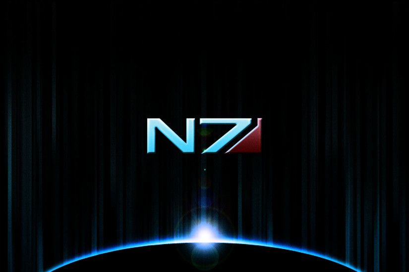 Mass Effect Wallpaper Logo HD