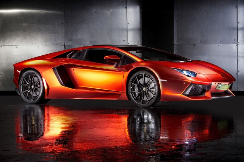Amazing Collection of Lamborghini Supercars HD Wallpaper .