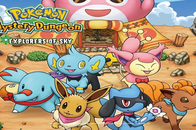 Pokemon Mystery Dungeon Explorers Of Sky 844261