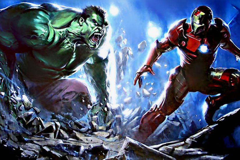 Iron Man Vs The Incredible Hulk #2 HD Wallpaper by  tommospidey.deviantart.com