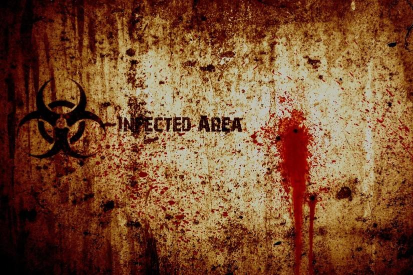 blood biohazard grunge wallpaper