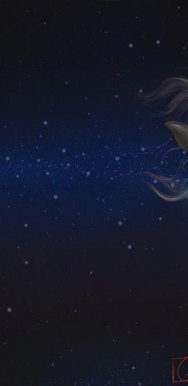 Fantasy Horse, White, Majestic, Stars, Galaxy, Tattoo