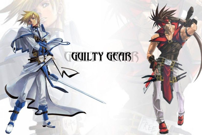 Guilty Gear Ky Kiske and Sol Badguy Wallpaper