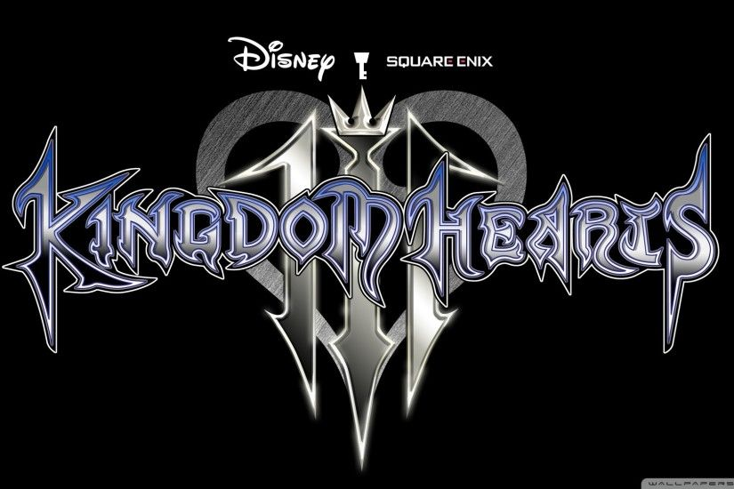 Kingdom Hearts 3 Logo · Kingdom Hearts 3 Mobile Wallpaper