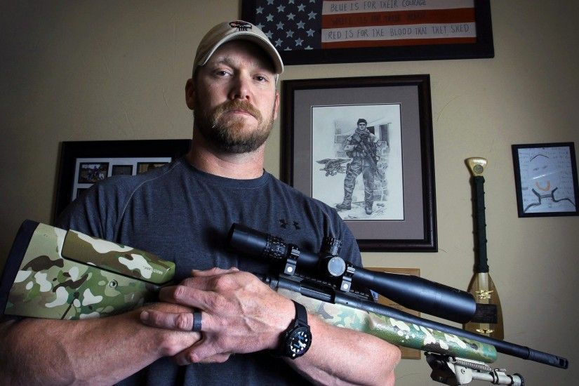 PHOTO: Chris Kyle , former Navy SEAL ...