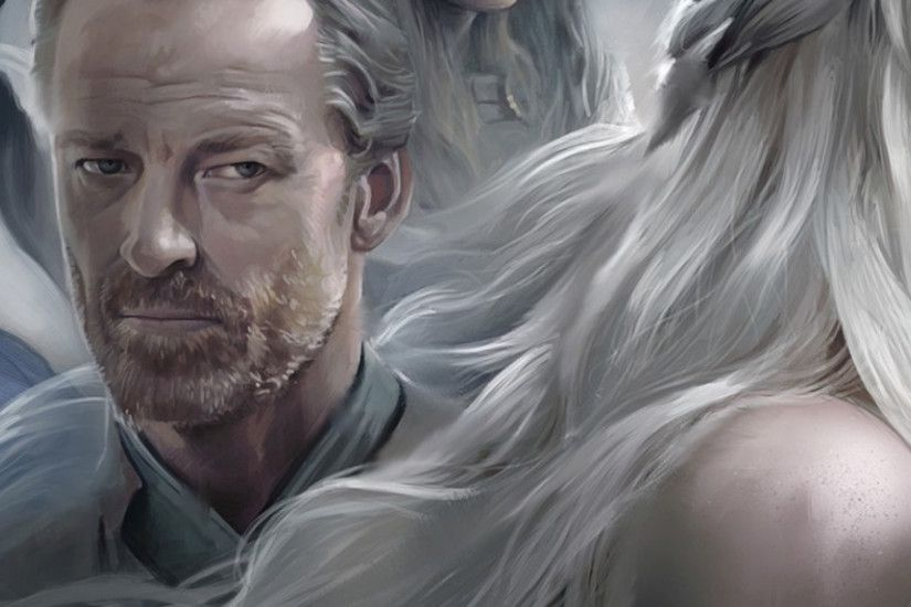 3840x1200 Wallpaper game of thrones, emilia clarke, daenerys targaryen, khal  drogo, jason