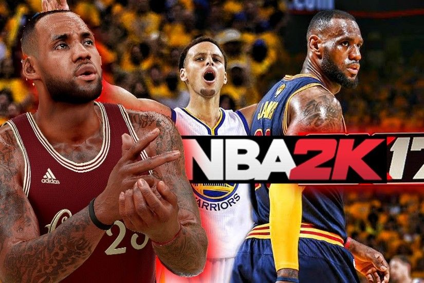 NBA 2K17 LeBron James NBA Finals 2016 Vs Stephen Curry, Kevin Love, & Kyrie  Irving Gameplay - YouTube