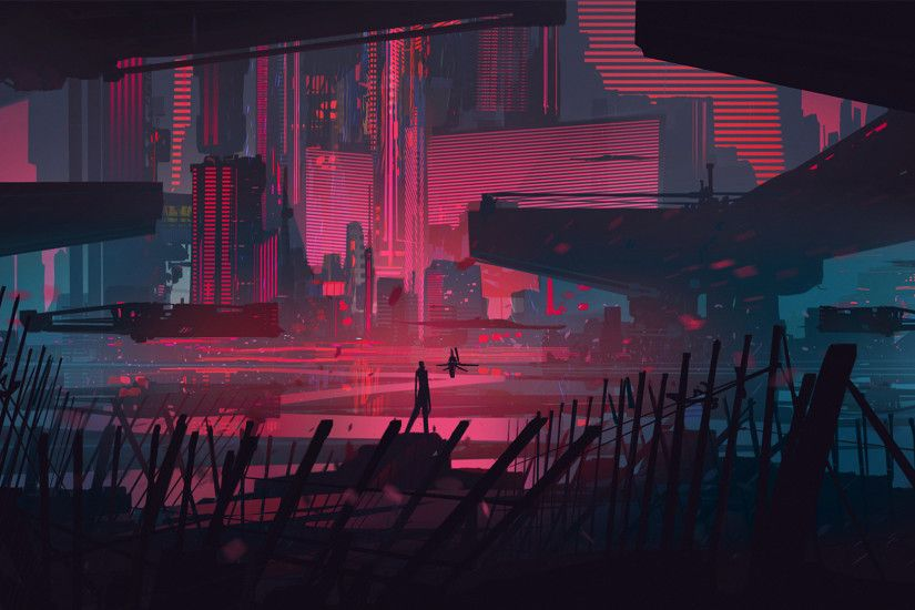 Neon City Lights 532049 - WallDevil Neon Full HD Wallpaper and Background |  1920x1440 | ID:314517 ...
