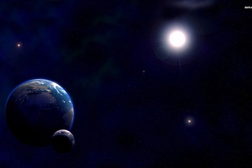 sun moon star background - photo #42