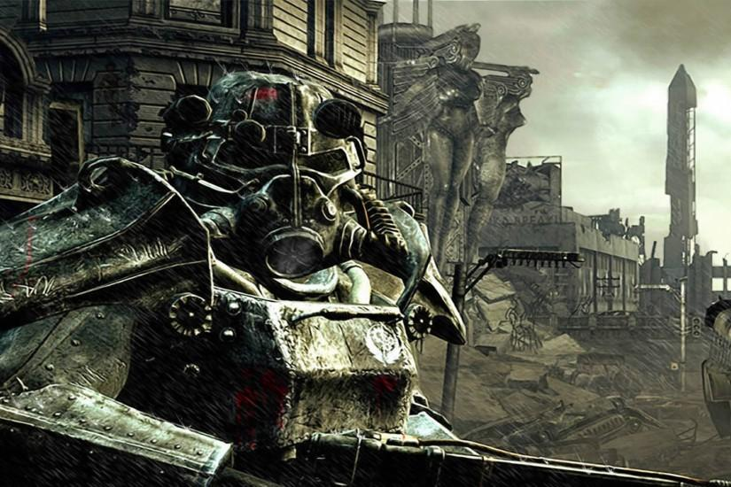 Brotherhood Of Steel Soldier. next fallout 3 wallpaper