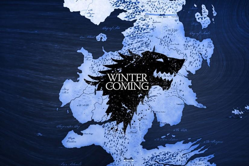 Game Of Thrones Winter Is Coming Map