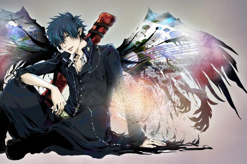 blue exorcist wallpaper 1920x1080 mobile