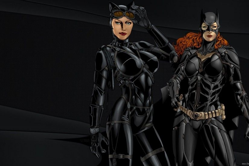 fantasy Art, Batgirl, Catwoman Wallpapers HD / Desktop and Mobile  Backgrounds