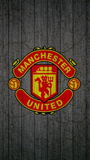 Apple IPhone 6 Plus HD Wallpaper Manchester United Logo