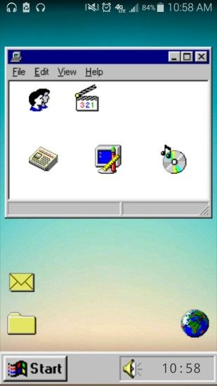[Functional] My version of the Retro Windows 95 theme I've been using for a  while ...