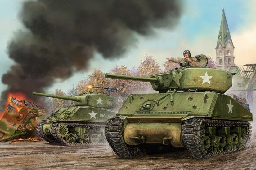 art tank u.s. assault sherman m4a3e2 jumbo sherman jumbo battle flames of  war the world war