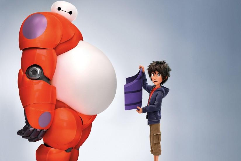 Baymax and Hiro - Big Hero 6
