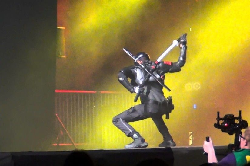 ECG Finals 2015 Switzerland Solo Cosplay Snake Eyes GI Joe HD (N-Gamz)