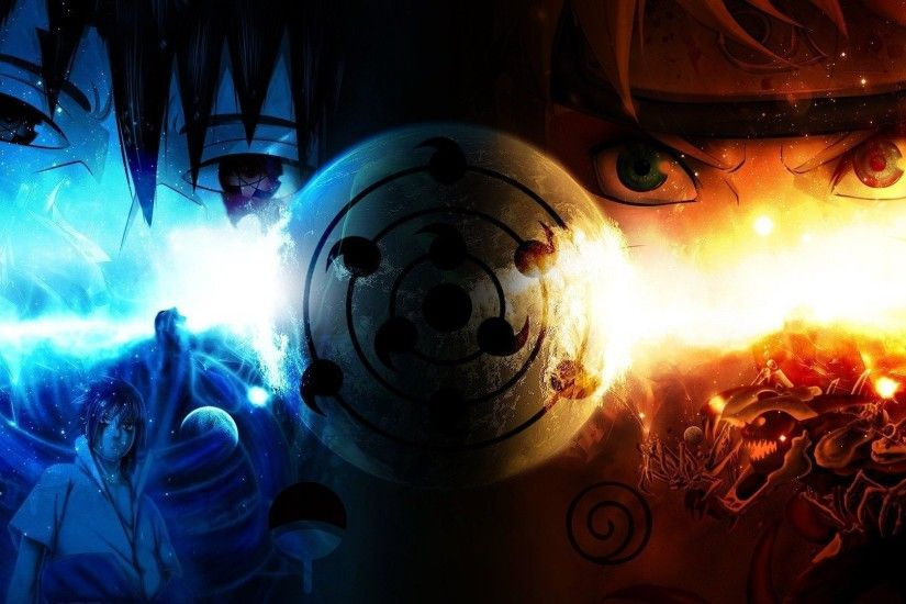 Naruto Fire And Ice HD Anime Wallpaper Desktop Wallpapers 4k High  Definition Windows 10 Mac Apple Backgrounds Download Wallpaper Free  1920x1080