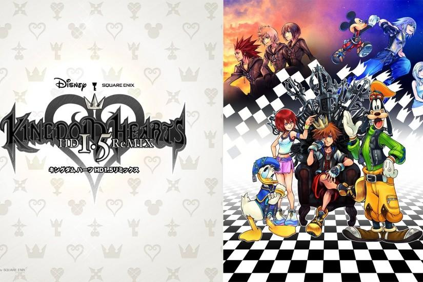 Kingdom Hearts 1.5 HD Remix Poster Wallpaper