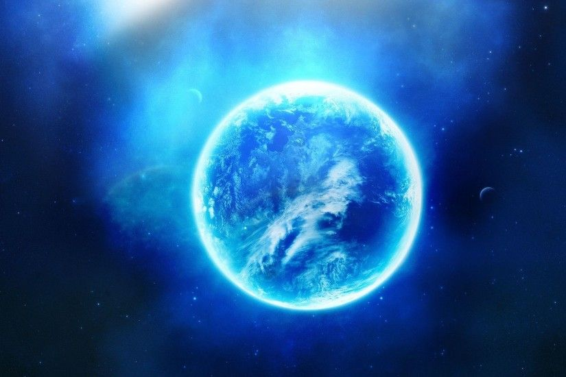 Blue planet HD Wallpaper 1920x1080 Blue ...