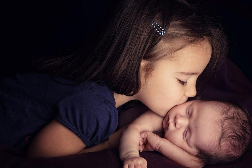 Sister And Baby wallpapers Wallpapers) – Wallpapers
