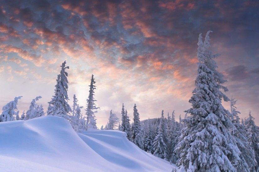 Snowing Christmas Scene.Christmas Winter Scenes Wallpaper Wallpapertag