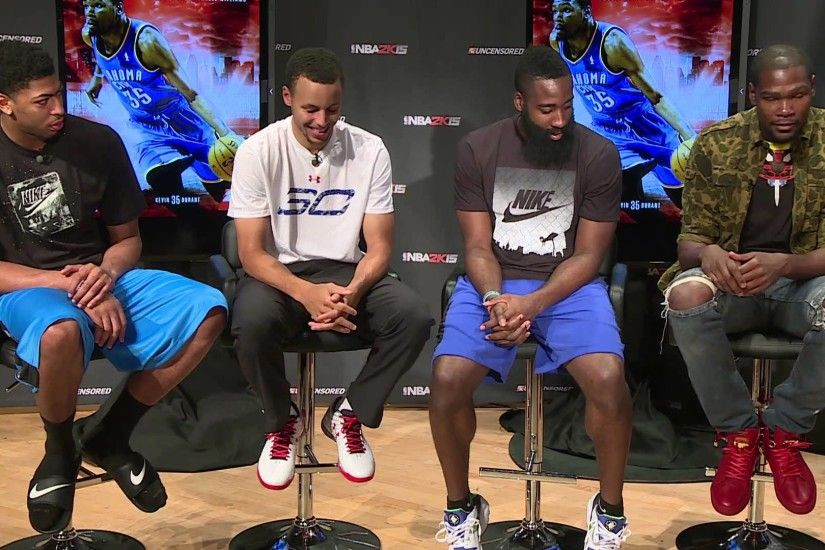 NBA2K Uncensored Kevin Durant Talks About Meeting Stephen Curry - YouTube