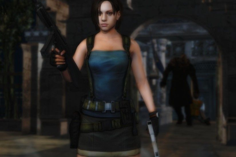 Jill Valentine wallpaper 23 by ethaclane Jill Valentine wallpaper 23 by  ethaclane