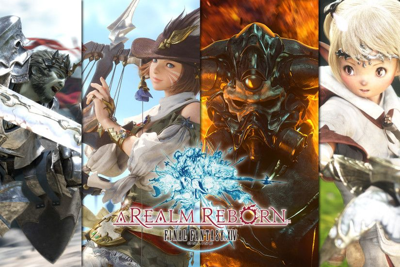 Final Fantasy XIV A Realm Reborn Computer Wallpapers Desktop | HD Wallpapers  | Pinterest | Final fantasy, Hd wallpaper and Finals