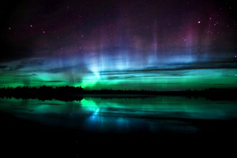 Images for Gt Real Northern Lights Wallpaper 2560x1600px
