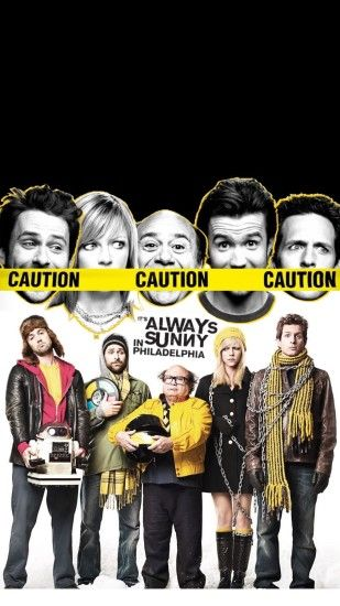 I created an It's Always Sunny wallpaper, let me know if you like it! It  looks best as an iPhone lockscreen. (Because of the implication) ...