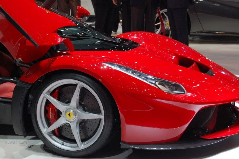 2013 Ferrari LaFerrari red supercar HD wallpapers #20 - 1920x1080.