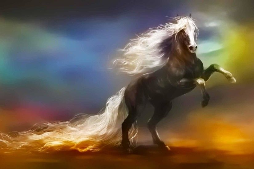 Wallpapers For > Fantasy Horse Wallpaper