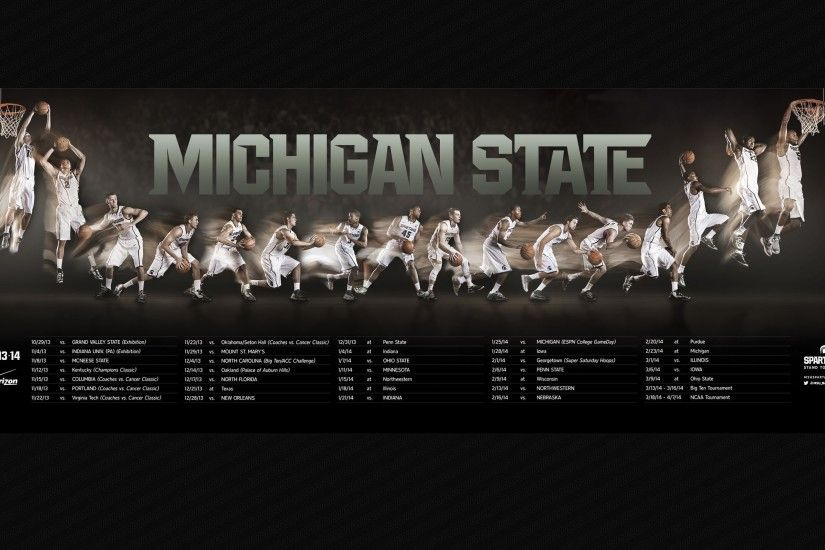 Michigan State Basketball Wallpapers by Doris Phillips #3