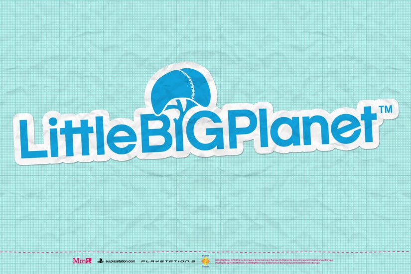 little big planet logo wallpaper hd 4441