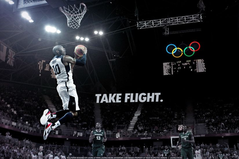 Take Flight Kobe Bryant Wallpapers HD.