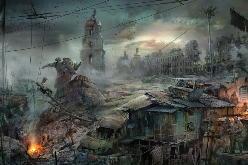 bogdan town apocalypse art wasteland end of the world