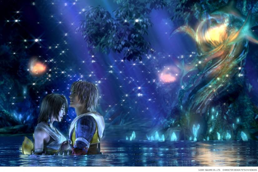 Final fantasy video games yuna tidus final fantasy x wallpaper | 2730x1800  | 22101 | WallpaperUP