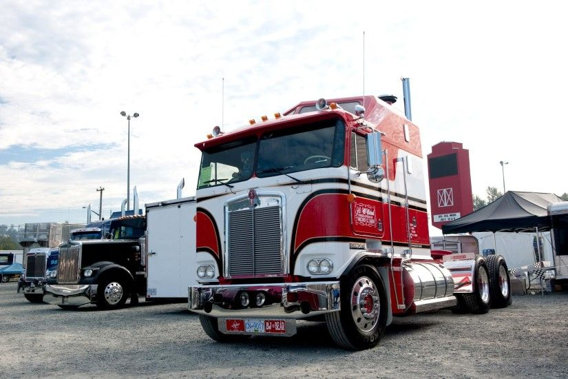 HD Kenworth K100 Semi Tractor Desktop Background Images Wallpaper