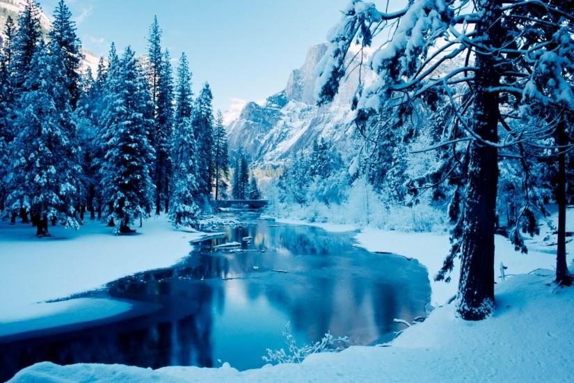 free winter background 1920x1200 for 4k