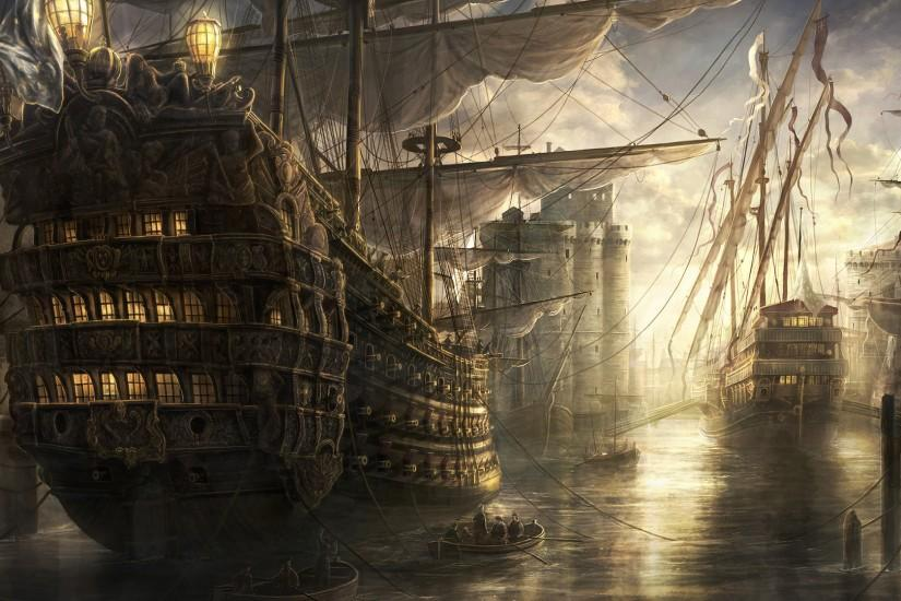 Pirate Ships! | Awesome Wallpapers | Pinterest